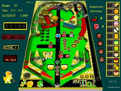 Mr. Do! Pinball screenshot.jpg