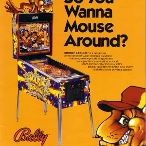 Mousin' Around (Bally, 1989) flyer1