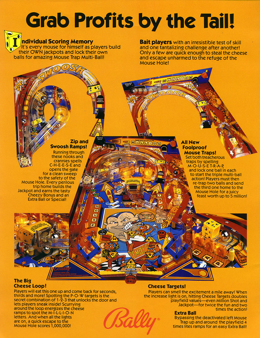 Mousin' Around (Bally, 1989) flyer2